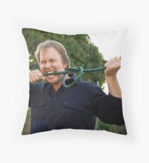 Put the Bite on Wasting Water! Throw Pillow