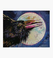 Raven Moon Photographic Print
