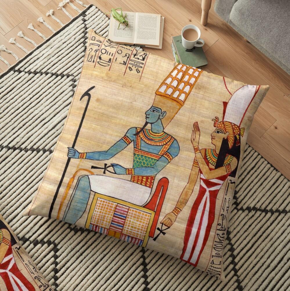Amun & Mut Receive offerings Floor Pillow