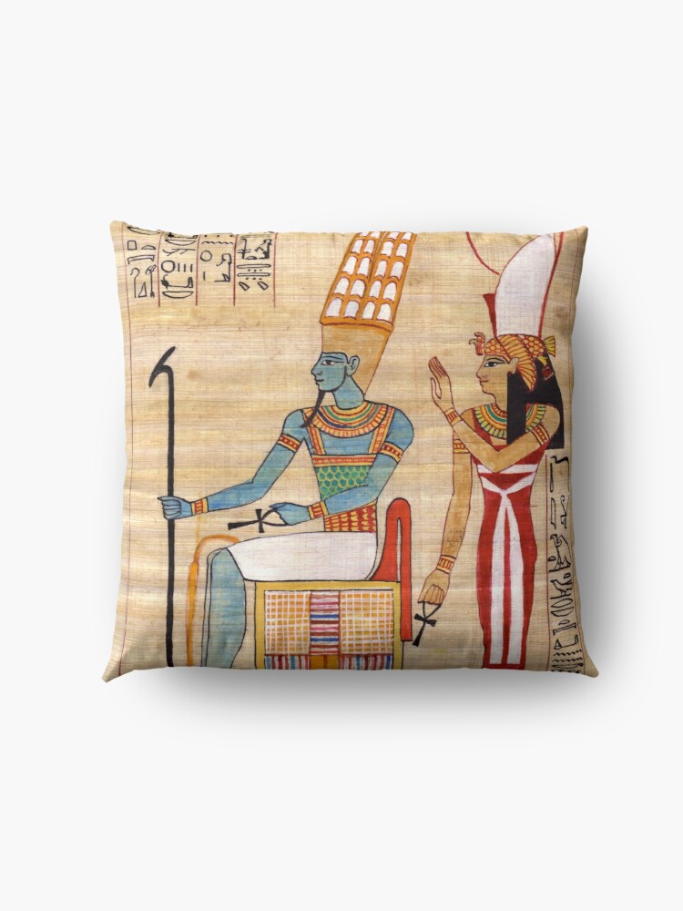 Alternate view of Amun & Mut Receive offerings Floor Pillow