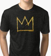 crown of basquiat Tri-blend T-Shirt