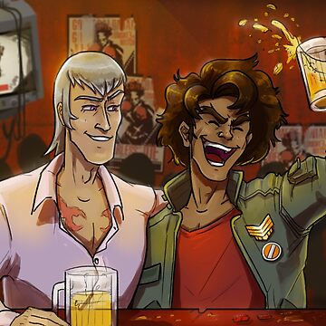 Cheers from Megalo Box! by mega-megantron