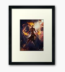 Chandra The Fire Halo Framed Print