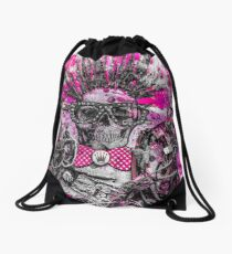 WIRED FOR SOUND #2 Drawstring Bag