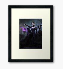 Liliana Halo Of Bolas Framed Print