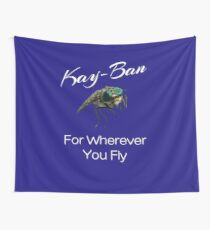 Kay Ban For Wherever you Fly Horsefly Wall Tapestry