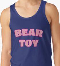 Bear Toy (Pink) Tank Top