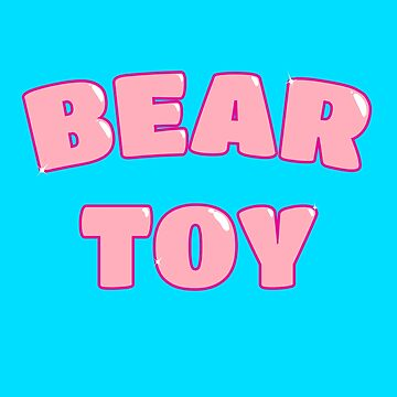 Bear Toy (Pink) by wearbaer