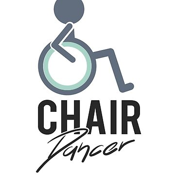 'Chair Dancer' Awesome Wheelchair Gift by leyogi
