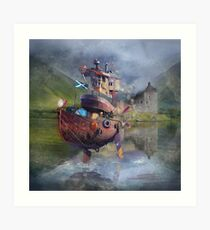 """ Fishing Boat ""  Art Print"
