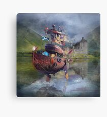 """ Fishing Boat ""  Canvas Print"