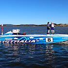 Team Australia 8 by kevin Chippindall