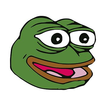 FeelsGoodMan - Pepe - Meme Face by Connorlikepie