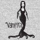 Vampira Tee (New Version) by Monsterkidd
