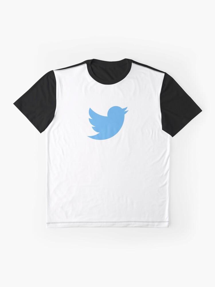Alternate view of Twitter Logo Graphic T-Shirt
