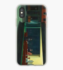 Nighthawks by Edward Hopper iPhone Case