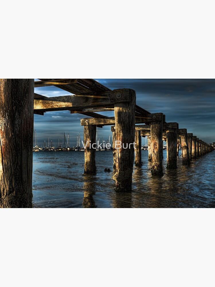 Moody Pier by VickieB