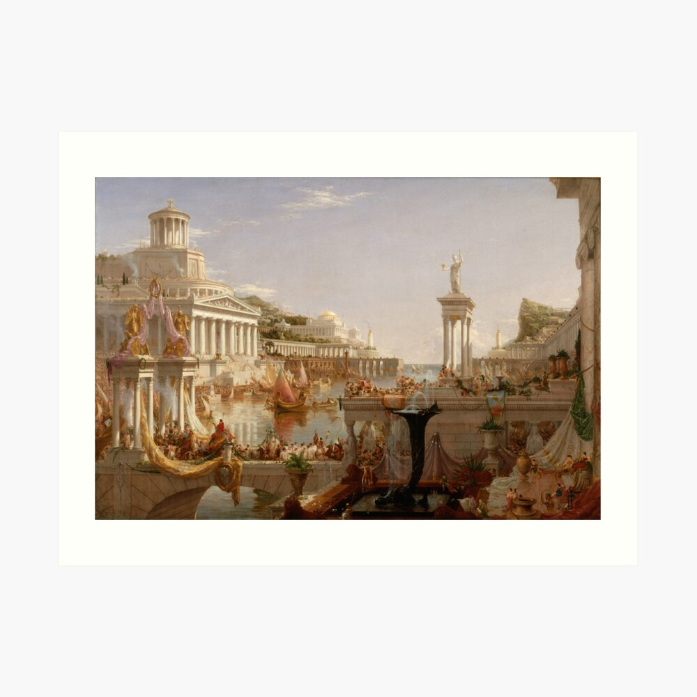 The Consummation of Empire - Thomas Cole Art Print