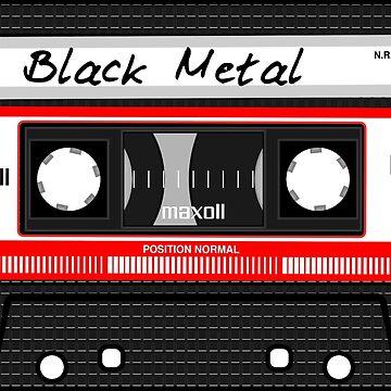Black Metal Cassette / Old School by Entex
