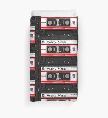 Heavy Metal Cassette / Old School Duvet Cover