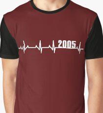 2005 Heartbeat Birthday Graphic T-Shirt