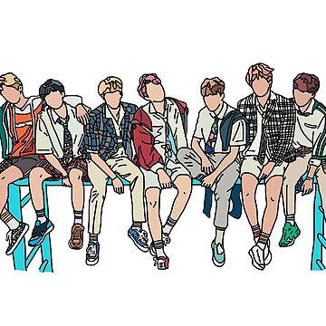 BTS by ebrown1117