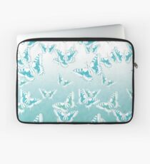 blue butterflies in the sky Laptop Sleeve