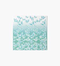blue butterflies in the sky Art Board