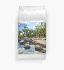 Ayalon Canada park background Duvet Cover