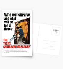 The Texas Chainsaw Massacre Postcards