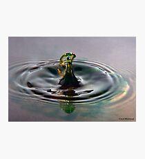 Droplet 7 Photographic Print