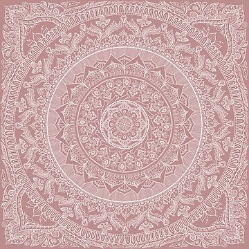 Mandala - Powder Pink by MariaMahar