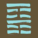 52 Meditation I Ching Hexagram by SpiritStudio