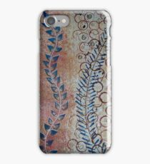 Curvaceous Vineyard Swirls and Circle Designs iPhone Case/Skin