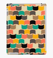 Retro abstract pattern iPad Case/Skin