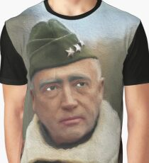 General George Patton Graphic T-Shirt