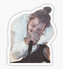 posty singing Sticker