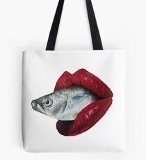 Fishy Lips Tote Bag