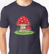 Happy mushrooms Unisex T-Shirt