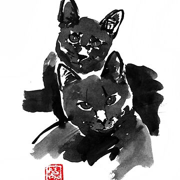 black brothers cats by pechane
