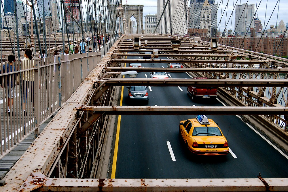 Brooklyn bridge by Benjamin Haywood