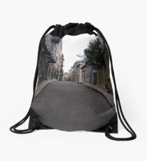 Quebec City, #QuebecCity, #Quebec, #City, #buildings, #streets, #places, #views, #nature, #people, #tourists Drawstring Bag
