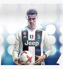 Cristiano Ronaldo New Team Poster