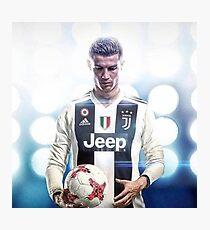 Cristiano Ronaldo Neues Team Fotodruck
