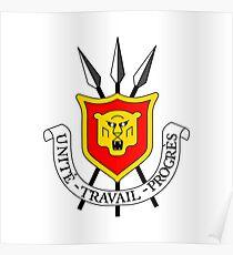 Coat of arms of Burundi Poster