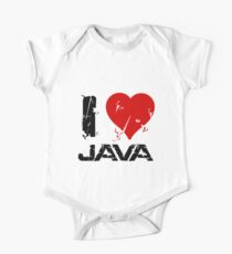 I Love Java Kids Clothes