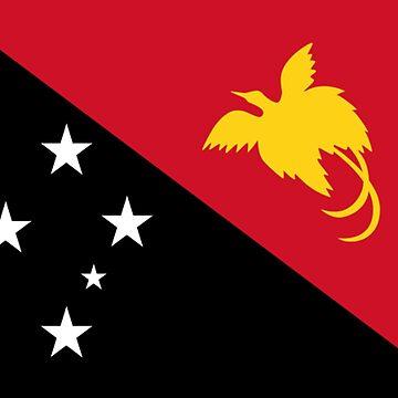 Papua New Guinea - National Flag - Current by CrankyOldDude