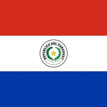 Paraguay - National Flag - Current by CrankyOldDude