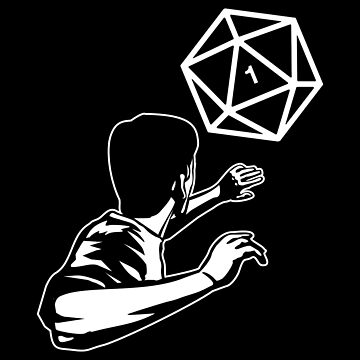 Scary Polyhedral D20 Dice Critical Fail Halloween Costume by pixeptional