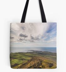 View over Akranes Tote Bag